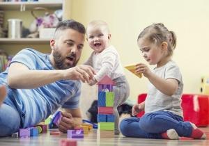 giocare con i propri figli