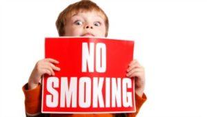 fumo dannoso per bambini