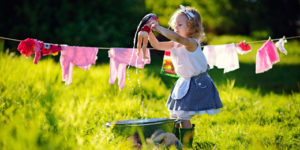 lavare i capi dei neonati