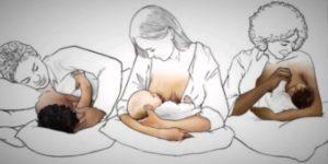 posizioni per l'allattamento